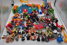 Rescue Heroes Action Figures Large Lot Figurines Vehicles Weapons Aquatic Mattel