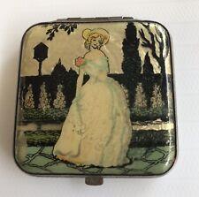 Vintage Gwenda Art Deco Compact