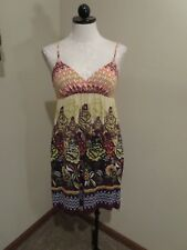 Anthropologie Pinkerton floral print chemise dress sz XS