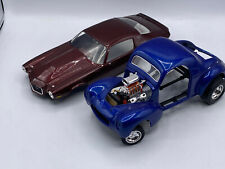 Ertl Chevrolet Chevy Camaro & Gasser Hot Road Roadster 1/18 Scale Diecast Lot