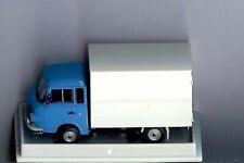 Brekina 30351: Barkas B 1000 Koffer, blaues Fahrerhaus