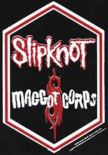 Slipknot Maggot Corps Original 2000 Vintage 4x5.5 Car Bumper Sticker  Rare