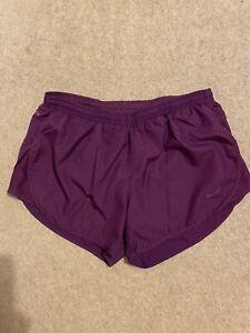 nike Dri Fit ladies running shorts Size Medium