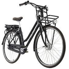 E-City Bike 28'' Cantaloupe E-Bike Schwarz 3 Gänge 250W 36V/10,4 Ah 127E