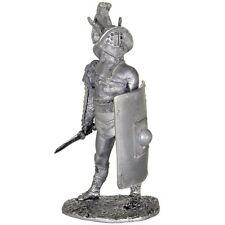 Gladiator Murmillo Tin toy soldier 54mm miniature statue. metal sculpture