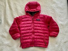 Patagonia Coat Puffer Jacket Toddler Girls 4T Reversible Down