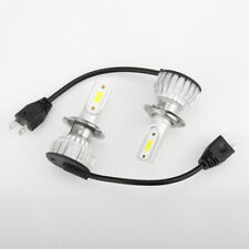 Combo H7 COB LED Headlight Bulbs Kits High Low Beam Blue Lamp 8000K 100W 20000LM