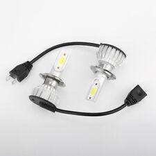 Combo H7 COB LED Headlight Bulbs Kits High Low Beam Blue Lamp 8000K 100W 20000LM