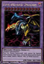 Five-Headed Dragon PGL2-EN078 Gold Rare X 3 Mint YUGIOH Free S/H