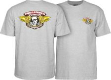 Powell Peralta Skateboards Old School Winged Ripper Classic Reissue T-Shirt Gray