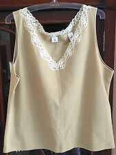 REAL CLOTHES SFA EXCLUSIVE OF DECORATION COTTON CAMI SIZE XL
