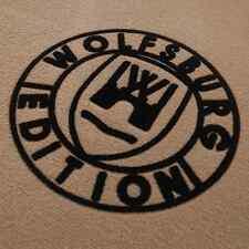 VW BORA 1J5 Bj.98-05 passende Fußmatten Velours beige Wolfsburg Edition WOB