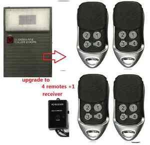 Gliderol Garage Door Remote Upgrade Kit For Glidermatic Deluxe Motors 4 remotes