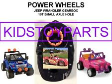 """(1X) 19T POWER WHEELS #7R GEARBOX WRANGLER JEEP WITH 10 3/4"""" TIRES"""