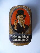 Kleine Blechdose Kautabak Grimm & Triepel Nordhausen