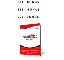 YouTube Ads Made Easy Video Training - See Unbelievable Bonus L@@K