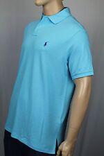 Ralph Lauren X-Large XL Blue Custom Fit Mesh Shirt Polo Purple Pony NWT