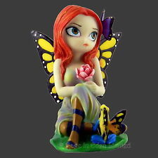 Large DAYDREAMS & FROG Fantasy Fairy Figurine By Jasmine Becket-Griffith (12cm)
