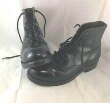 VTG Military Boots Size 8C VTG Grunge Combat Biltrite Gay Interest 7576 Police?