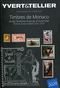 CATALOGUE YVERT 2020 Tome 1bis MONACO Val 25,90€