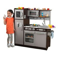 Kids Kitchen Playset Pretend Play Set Cooking Award Toy Phone Baking 30 pc Food