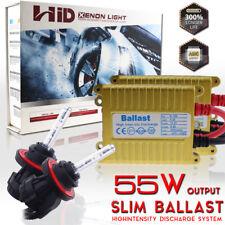 55W Slim HID Xenon Headlight Conversion Kit H4 H13 9004 9007 HB5 High Low Beam