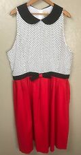 NEW Lindy Bop  Plus Size Polka Dot Rockabilly Pinup Swing Vintage Dress Size 6XL