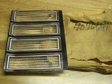 NOS MOPAR  1980 80 Dodge Aspen RH grill turn signal lens