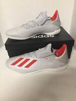 Adidas X 19.3 IN F35370 Silver Soccor Shoes Sz 13