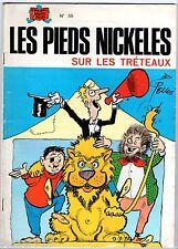 LES PIEDS NICKELES n°55 ¤ SUR LES TRETEAUX ¤ SPE 1980