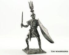 Roman legionnaire 3BC Tin toy soldiers. 54mm miniature figurine. metal sculpture