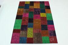 Tapis multicolore pour la maison en 100% laine, 200 cm x 300 cm