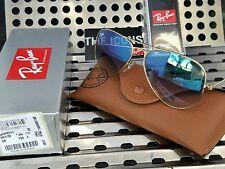Ray-Ban RB3025 58mm 001/3F Aviator Unisex Gold Blue Gradient Sunglasses