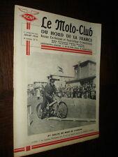 REVUE MOTO-CLUB DU NORD DE LA FRANCE - Juillet 1955