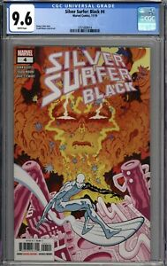 Silver Surfer: Black #4 CGC 9.6 NM+ WHITE PAGES