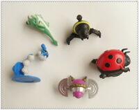 "lot of 5 Sega SONIC THE HEDGEHOG  mini  figure  2""- 3""  old"