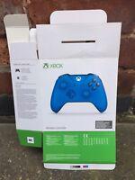 Blue EMPTY BOX Only -Xbox One Wireless Controller Retail Dummy Display