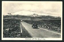 Autostrada per l'Etna ( Catania ) - datata 1944