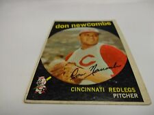 1959 Topps Don Newcombe Card # 312 Cincinnati Reds