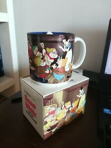 Walt Disney Snow White And The Seven Dwarfs Coffee Tea Cup Mug Vintage NEW JAPAN