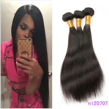 3bundles 100% Brazilian Remy Virgin Hair Straight Wave Human Hair Exteniosns