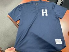 "Huf Classic ""H' Men's Baseball Jersey in Navy [Size X-Large] Xl"