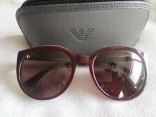 Emporio Armani brown / green frame sunglasses. EA 4043 5351/73. With case.
