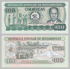 Mosambik / Mozambique 100 Meticais p126 1980 unz.