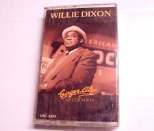 Ginger Ale Afternoon Willie Dixon Music Cassette Tape NEW