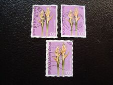 COTE D IVOIRE - timbre yvert/tellier n° 579 x3 obl (A27) stamp