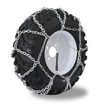 Grizzlar GTN-524 Garden Tractor / Snowblower Net Tire Chains 15x5.00-6