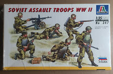 ITALERI 347 - SOVIET ASSAULT TROOPS WWII - 1/35 PLASTIC KIT NUOVO