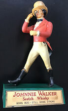More details for johnnie walker scotch whisky advertising plastic display figure statue 8.1/4ins