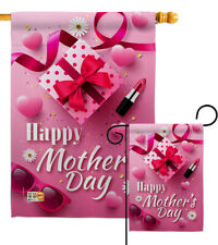 Beautiful Mother Day Garden Flag Love Mom Wife Floral House Gift Yard Banner